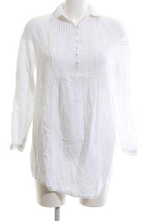 TRF Langarm-Bluse weiß Casual-Look