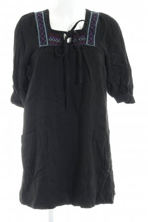 TRF Langarmkleid schwarz Elegant