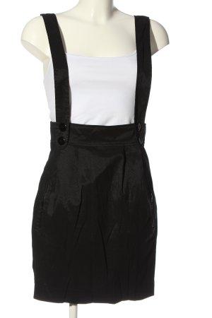 TRF Overgooier overall rok zwart casual uitstraling