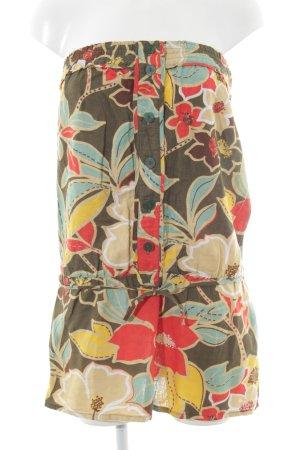TRF Minikleid Blumenmuster 90ies-Stil
