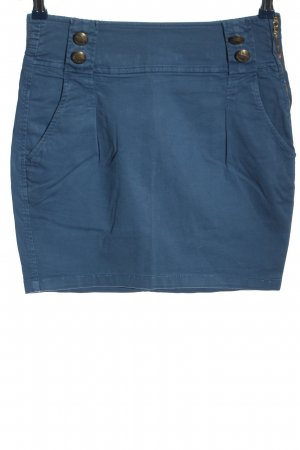 TRF Minirock blau Casual-Look