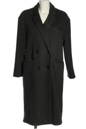 trf_outerwear Cabanmantel hellgrau meliert Business-Look
