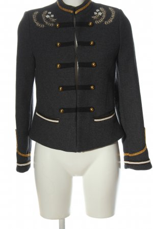 trf_outerwear Coarse Knitted Jacket multicolored elegant