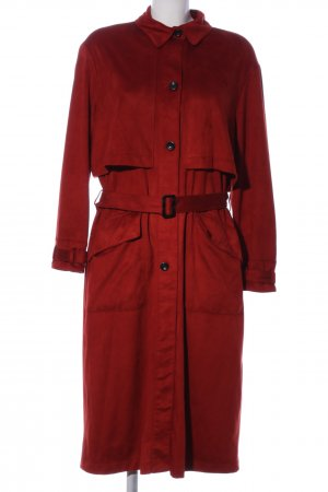 TRF Outwear Floor-Lenght Coat red casual look