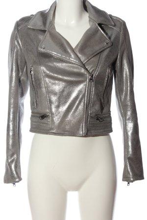TRF Outwear Kurzjacke silberfarben Casual-Look