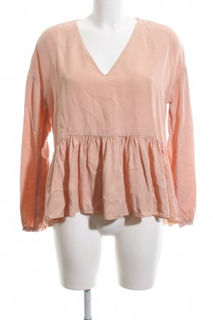 TRF Schlupf-Bluse pink Casual-Look