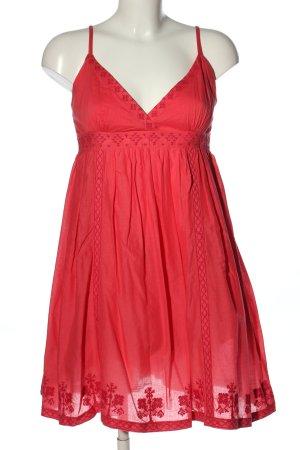 TRF Trägerkleid rot Casual-Look