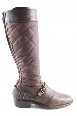Trialmaster Winterstiefel braun Steppmuster Casual-Look