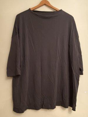 Triangle Oversized shirt donkergrijs