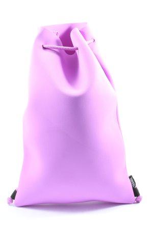 Triangl Sac seau violet style décontracté
