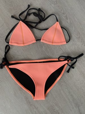 Triangl Bikini arancio neon