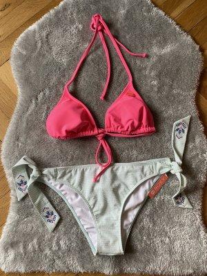 Roxy Bikini magenta-rose fluo