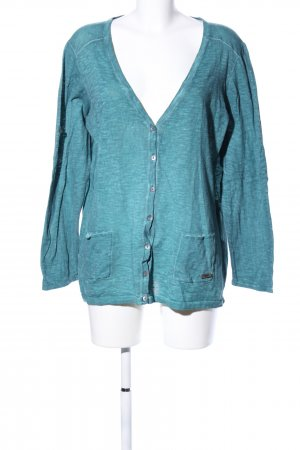 Triangle Cardigan blau meliert Casual-Look