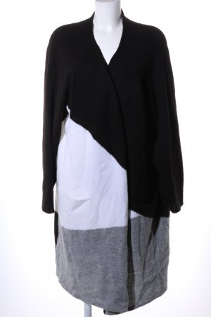 Triangle Cardigan meliert Casual-Look