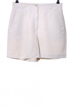 Triangle High-Waist-Shorts wollweiß Casual-Look