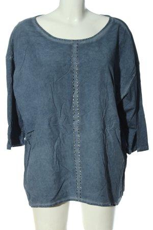 Triangle Jeansbluse blau Casual-Look