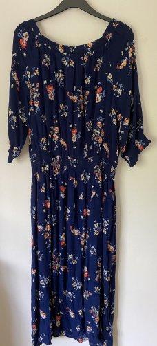 Triangle Off-The-Shoulder Dress multicolored cotton