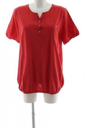 Triangle Camisa larga rojo estilo «business»