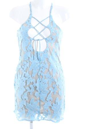 Triangle Minikleid blau-bronzefarben Party-Look