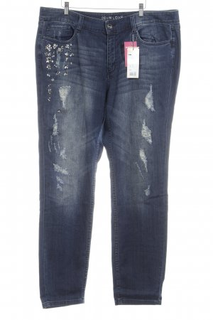 Triangle Slim Jeans blau Casual-Look