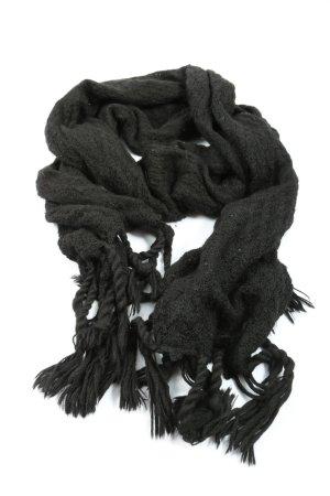 Tribal Art Woolen Scarf black casual look