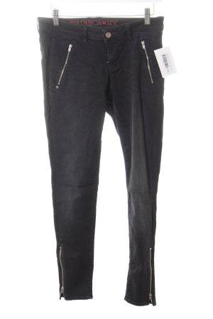 Tribeca New York Skinny Jeans schwarz Casual-Look