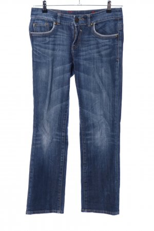 Tribeca New York Straight-Leg Jeans blau Casual-Look