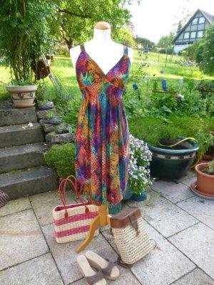 Trigadana Kleid Kofferkleid Trägerkleid Bunt NEU Gr. M