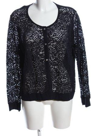 Trigema Marynarka koszulowa czarny W stylu casual