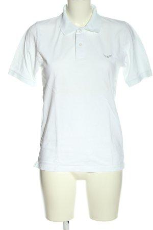 Trigema Polo Shirt white casual look