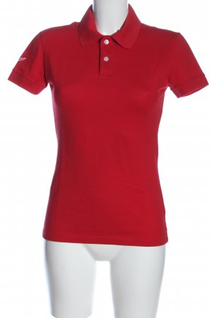 Trigema Polo Shirt red casual look