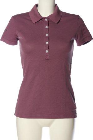 Trigema Polo Shirt lilac casual look