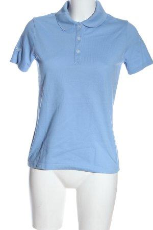 Trigema Polo Shirt blue casual look