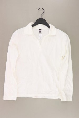 trigema Poloshirt Größe M Langarm creme