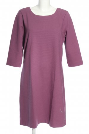 Trigema Robe pull violet style décontracté