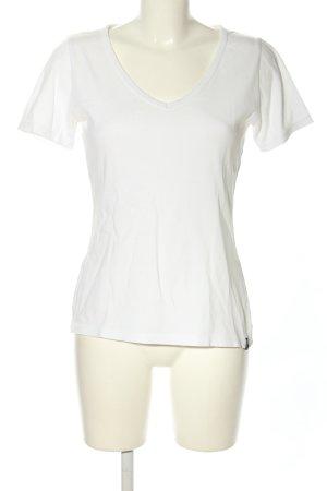 Trigema T-Shirt weiß Casual-Look