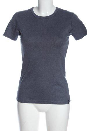 Trigema T-Shirt light grey flecked casual look