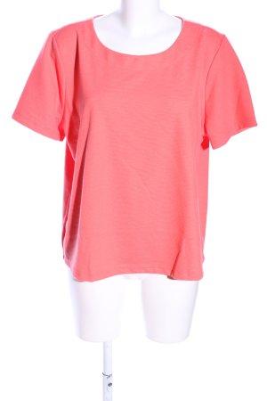 Trigema T-Shirt rot Casual-Look
