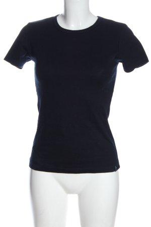 Trigema T-Shirt blue casual look