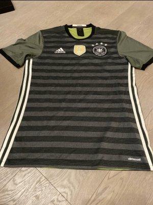 Adidas Koszulka sportowa zielony neonowy-antracyt