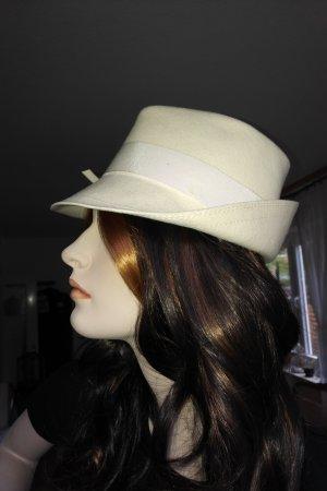 True Vintage Woolen Hat natural white-oatmeal wool