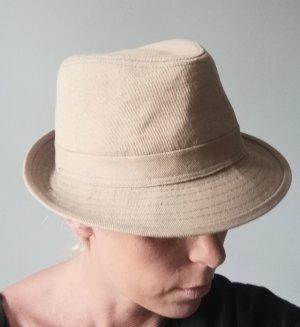 Zara Chapeau feutre gris brun