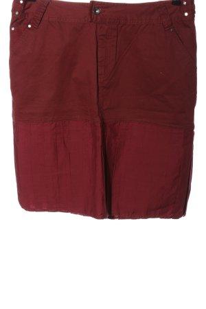 Triple Five Soul Gonna di jeans rosso stile casual