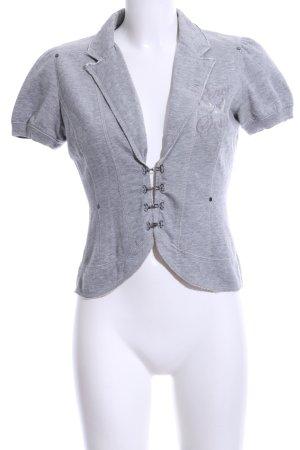 Triple Five Soul T-shirt grigio chiaro puntinato stile casual