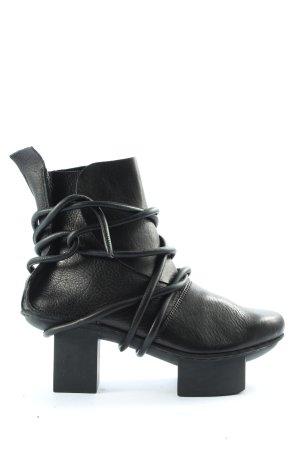 trippen Wciągane buty za kostkę czarny Ekstrawagancki styl
