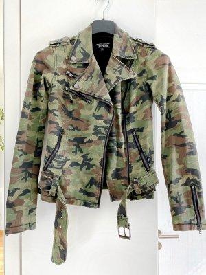 Trippnyc Jeans Jacke in Militäroptik M