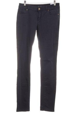 Tristano Onofri Pantalón de vestir azul oscuro estilo «business»