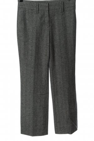 Tristano Onofri Woolen Trousers light grey check pattern business style