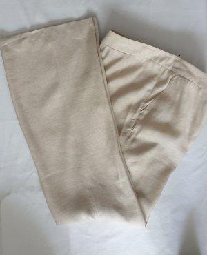 Tristano Onofri Linen Pants oatmeal