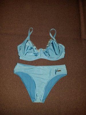 Triumph Traje de baño azul claro